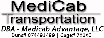 MediCab Transportation Logo